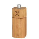 RÄDER moulin à sel - bambou - 12x5x5cm