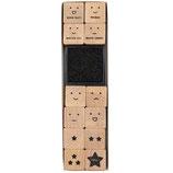 RICO set 12 tampons Lehrer + 1 encreur noir