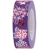 RICO tape fleur lila - 15mmx10m