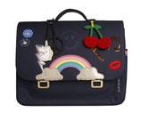 JEUNE PREMIER - It bag Midi Lady Gadget Blue - 38x29x14,5cm - 14L