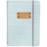 """RÄDER notebook """"Zeitreise"""" - uni - couverture en coton - 10,5x15cm"""
