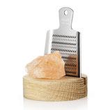 RIVSALT Original - râpe à sel - bloc de sel de l'Himalaya inclus - 180gr