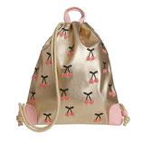 JEUNE PREMIER - City bag Cherry Pompon - 44x37cm - 11L
