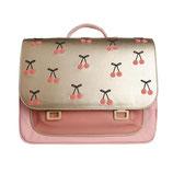 JEUNE PREMIER - It bag Midi Cherry Pompon - 38x29x14,5cm - 14L