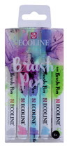 Talens brush pen - ecoline pastel - 5pcs