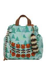 JEUNE PREMIER - Backpack MINI Forest creatures Boy - 24x28x11cm - 7L