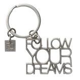 """RÄDER porte clés """"follow your dreams"""" - 2x6cm"""