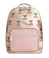 JEUNE PREMIER - Backpack Bobbie Cherry Pompon - 30x41x16cm - 17L