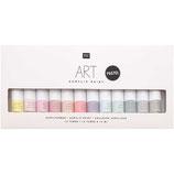 Acrylic set pastel - 12x12ml