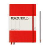 LEUCHTTURM hardcover - notebook A5 - Red