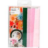 RICO set DIY de fleurs en papier crépon