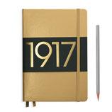 LEUCHTTURM metallic Edition - notebook A5 - gold