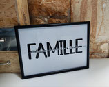 """Cadre """"Famille"""" & """"Amour"""""""