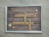 "Cadre ""Scrabble"""