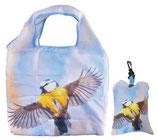 Faltbare Einkaufstasche Vogel