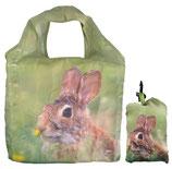 Faltbare Einkaufstasche Hase