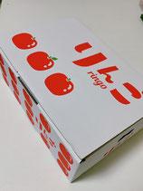 りんご品種おまかせ2種類の少量詰め合わせ小箱セット