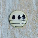 Vögel auf Stange
