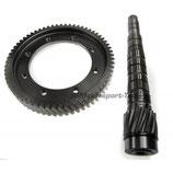 Motamec Kronenrad und Ritzel für IB5 Getriebe Achsantrieb