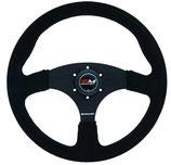 Motamec Motorsport-Lenkrad Rallye - flach - verschiedene Farben - Wildleder