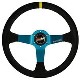 Motamec Motorsport-Lenkrad Pro Deep Dish - schwarz - Wildleder