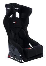 Motamec Rennsitz GP1 - FIA homologiert (schwarz)