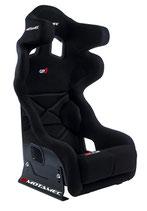 Motamec Rennsitz Racing GP-3 - FIA homologiert (schwarz)