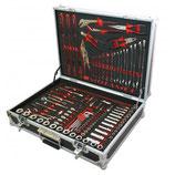 Motamec Werkzeugkoffer mit Motorsport Service-Equipment  - verschiedene Farben