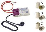 Anschluss-Set EVG 35/70 Watt Vorschaltgerät