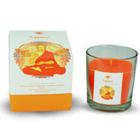 Green Tree Happiness Glass Fragrance Candle