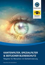 Informationsbroschüre Kantenfilter und seitlicher Blendschutz