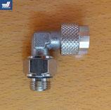 Hydraulikanschluss 90° abgewinkelt G1/8 - 6 mm