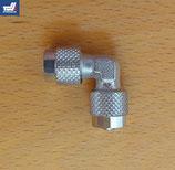 L-Hydraulikverbinder mit Überwurfmutter 6 mm