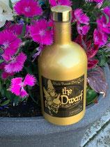 "Lacher Black Forest Dry Gin ""the Dwarf"" Black Label 0,5ltr."