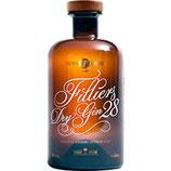 Filliers Belgian Dry Gin 28  43%vol  0,5ltr.