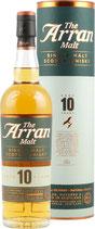 Arran 10 Jahre Whisky mit 0,7 Liter und 46 % Vol. mit GP