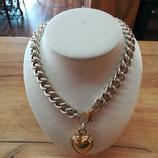 Prachtvolle Halskette aus Silber