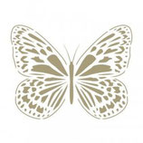 Stencil Mariposa grande