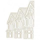 Stencil casas inglesas G