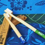 Zahnbürste aus Bambus für Erwachsene (nachhaltig)