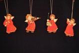 Nostalgisches Weihnachtsschmuck und Christbaumspitzen