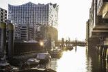 Elbphilharmonie in Hamburg, Speicherstadt