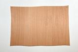 Holzschild Querformat, wellig gesägt, gebohrt, roh,  ca. 33 x 22 cm
