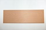Holzschild länglich, gebohrt, roh, 45 x 15 cm