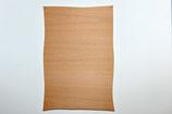 Holzschild Hochformat, wellig gesägt, gebohrt, roh,  ca. 22 x 33 cm