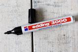 Edding 3000 Permanent Marker, schwarz