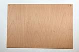Holzschild Querformat, gebohrt, roh,  ca. 34 x 23 cm