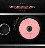 Ignition switch cover decal, early Porsche 911 (1964 – 1973)