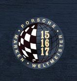 Sticker Porsche  Marken Weltmeister (3 Sticker zur Auswahl vorhanden )