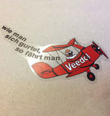 Veedol sticker for Porsche 911 Carrera 3.0 RSR from 1973